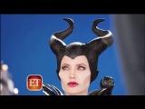 «Малефисента» | «Maleficent» (2014) : Интервью у Анджелины Джоли на канале ET. (С новыми фрагментами из фильма)