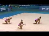 Сборная Германии, булавы. Чемпионат Европы 2014, Баку (Азербайджан).